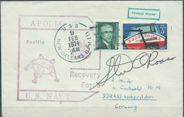Stati Uniti D'america,United States,U.S.A,1971- APOLLO , Cover From New Orleans To Germany - Postal History