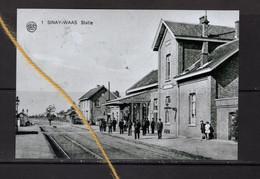 PHOTO  SINAAI SINT NIKLAAS OOST VLAANDEREN  STATION STATIE REPRO - Sint-Niklaas