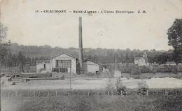 52 - 3 - SAINT-AIGNAN - USINE ELECTRIQUE - Autres Communes