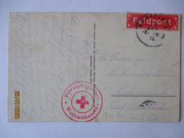 Lazarett Wolfratshausen, Privatpflegestätten, 1916 Nach Reisbach (53828) - War 1914-18
