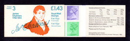 GRANDE-BRETAGNE 1982 - Carnet Yvert C968a-1-2A - SG FN1B - NEUF** MNH - £1.43 Booklet - Postal History Séries - Carnets