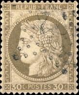 """FRANCE - 1871-75 - N°56 30c Gris-brun - Oblitéré étoile """" 22 """" - 1871-1875 Ceres"""