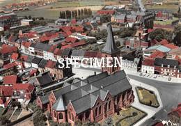 Luchtopname De Kerk @ Kortemark - Kortemark