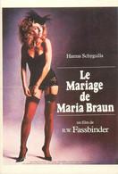 """CPSM CINEMA / AFFICHE FILM """" Le Mariage De Maria Braun"""" - Plakate Auf Karten"""