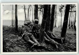53104772 - Reichsheer Schweres MG In Waldstellung - War 1939-45