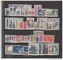 1962-FRANCE-ANNEE COMPLETE 1962**49 TIMBRES - 1960-1969