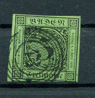 Baden: 3 Kr. MiNr. 6 1853 Gestempelt / Used / Oblitéré - Baden