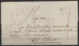 """L. Datée 1776 De Deijnse Pour GHENT (Gand) - Griffe """"DEYNSE"""" (marque Pas Courante) - 1714-1794 (Paises Bajos Austriacos)"""