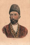 Portrait Homme De Perse (Iran): Pers (Persan Iranien) - Illustration Non Signée, Carte Dos Simple Non Circulée - Asia
