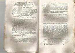 AN VIII DE LA REPUBLIQUE , ARRETE CONTENANT REGLEMENTS SUR LES REVUES DES TROUPES DE LA REPUBLIQUE - Documenti