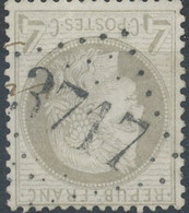 D - [41217]TB//O/Used-N° 52, TB Obl 'GC3717' St-Leger-Sous-Beuvray' (70) - 1871-1875 Ceres