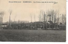 10 - CLAIRVAUX - Forges St Bernard - Les Usines, Vues De La Voie Ferrée - Sonstige Gemeinden