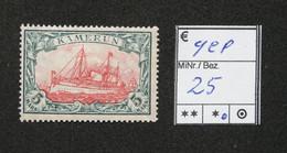 Nr.25 Kamerun Mit Pfalz Geprüft - Colonia: Camerun