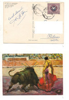 8612 Spagna Espana Card 1967 Torero Manolete Singolo Solo Isolato - Briefe U. Dokumente