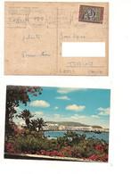 8641 GRECIA HELLAS MYKONOS 1969 Card Stamps Cover - Briefe U. Dokumente