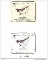 """Genummerde Kaart + Sticker """"Ekster"""" 10 Jaar S.P.A.B. (Nr. 442/500) - 1985-.. Vogels (Buzin)"""