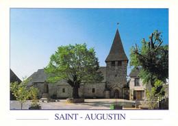 19 - Saint Augustin - La Place De L'église - Other Municipalities