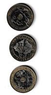 FRANCE - LOT DE 3 PIECES DE 20 FRANCS DIFFERENTES - L. 20 Francs