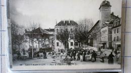 SAINT MARCELLIN PLACE DE L'HOTEL DE VILLE - Saint-Marcellin