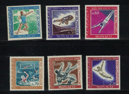 MONACO N° 736 / 41 Jeux Olympiques  Mexico 1968 - Nuovi