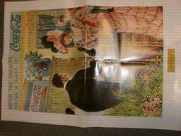 POSTER PUBBLICITARIO COCA COLA -RIPRODUZIONE IN THE THEATRE - Affiches Publicitaires