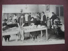 CPA 39 LONS LE SAUNIER Institut Familial Ménager ANIMEE Raccommodage  METIERS FEMME COUTURE CARTE ENTIERE ...non Coupée - Lons Le Saunier
