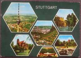Stuttgart - Mehrbildkarte / Taxiert, Nachporto, Nachgebühr Klagenfurt - Stuttgart