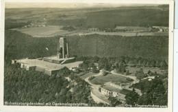 Hohensyburg; Denkmal Mit Denkmalgaststätte (Fliegeraufnahme) - Gelaufen. (Aero-Bild, Leipzig) - Dortmund