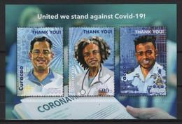 Curacao (2020) - Block - /  COVID 19 - Health - Medicin - Police - Doctor - Disease