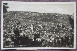 Stuttgart - Panorama Von Schillereiche / Taxiert, Nachgebühr, Nachporto Peronne - Stuttgart
