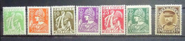 BELGIE  1932       Nr. 335 - 340  / 341       Postfris **     CW 25,00 - Nuevos