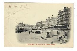 Ostende  Oostende  La Plage Et Les Grands Hôtels - Oostende
