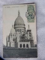 Eb1 PARIS 75 - CPA - SACRE COEUR DE MONTMARTRE - 33 JLC - AVEC ECHAFAUDAGE - Sacré Coeur
