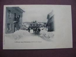 CPA 39 LES ROUSSES L'Hiver Aux Rousses PRECURSEUR Avant 1905  ANIMEE Canton MOREZ - Altri Comuni