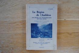 3931/La Région De L'Amblève-Origine,transformations,état Actuel E.RAHIR 1920 Remouchamps... - 1901-1940