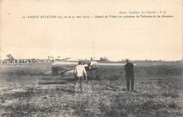Paray Le Monial Aviation 13 Vidart De Divonne Divetain De Cherbourg Tabuteau Combier La Clayette NR Attention état - Paray Le Monial