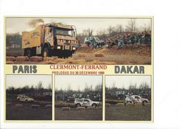 26708 - Paris Dakar  Clermont-Ferrand Prologue Du 30 Décembre 1990 - Rally Racing