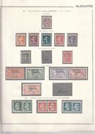 Alaouites 1925 Entre N°1 à 21 Neuf* - Neufs