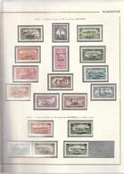 Alaouites 1925 - 1930 Entre N°22 Et 40 Neuf* - Neufs