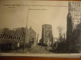 CUINCHY      1917 - Altri Comuni