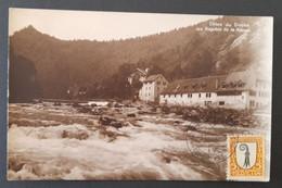 Switzerland 1923 Post Cancel Postcard - Briefe U. Dokumente