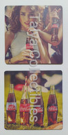 2 Different Pieces Sous Bock Coca Cola From Turkey - Portavasos
