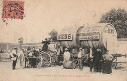 Bordeaux, Transport Et Vente à Prix Réduits De Vins En Wagons-foudre, 117 Quai De Paludate - RARE - Bordeaux