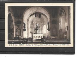 16- ABZAC-( Confolens)-- Une Vue De L'Intérieur De L'Eglise Avec Son ABSIDE Du XIIe Siécle-Reliquaire Du XVIIIe Siecle - Otros Municipios