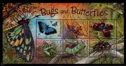 Australie - Australia 2003 Yvert BF 77, Fauna, Insects & Butterflies - Overprinted Bangkok 2003 - Miniature Sheet - MNH - Blokken & Velletjes