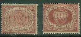Saint-Marin YT N° 26 28 Neuf - Unused Stamps