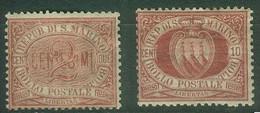 Saint-Marin YT N° 26 28 Neuf Bc - Unused Stamps