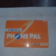 Nepal-phone Card Mobiline-(4033443)-(2)-(plastic Card)-used Card-6/3/2002+1card Prepiad Free - Népal
