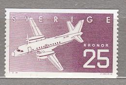 SWEDEN SVERIGE SUEDE 1987 Airplane MNH (**) Mi 1427 #18263 - Nuevos