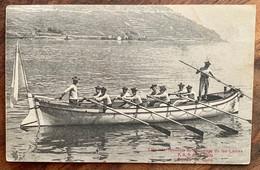 CULLY - BOURG EN LAVAUX: INTERNATIONALE DE SAUVETAGE À CULLY 1909 SUPERBE - VD Vaud